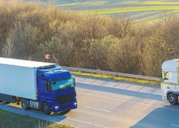 Camiones por carretera