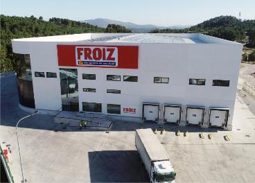 Nueva planta logística de Froiz