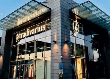 Tienda de Stradivarius, marca de Inditex