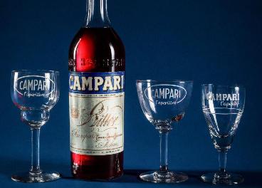 Botella de Campari
