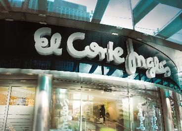 Entrada a El Corte Inglés de Castellana
