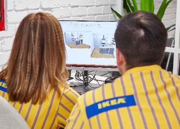 Servicio de planificación en Ikea Goya