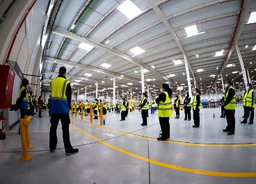 Trabajadores de XPO Logistics