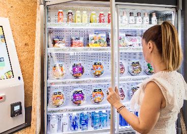 Florette en máquina de vending