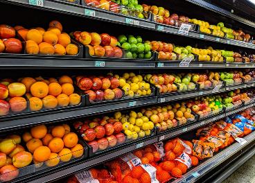 Lineal de frutas