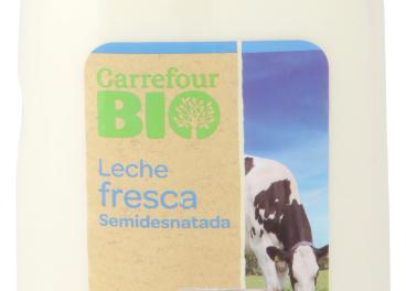 Leche fresca Carrefour Bio