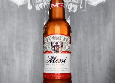 Budweiser homenajea a Messi