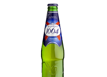 Botella de Kronenbourg 1664