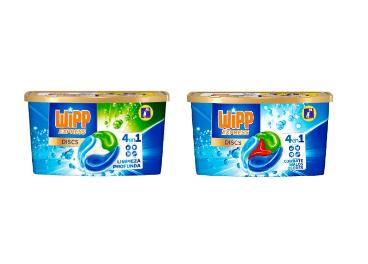 Nuevo Wipp Express Discs de Henkel