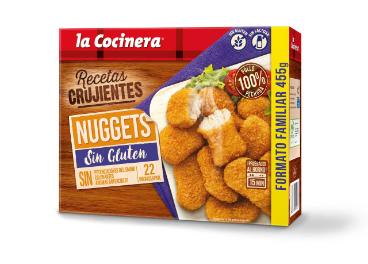 La Cocinera lanza nuggets sin gluten