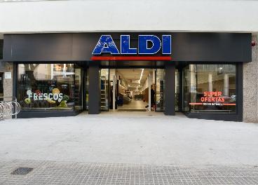 Tienda de Aldi en Cádiz