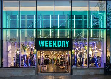 Tienda de Weekday en Sheffield (Reino Unido)