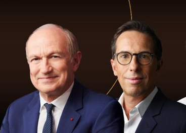 Jean-Paul Agon y Nicolas Hieronimus
