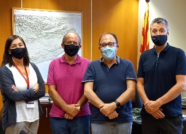 Caprabo estrecha lazos con la Generalitat