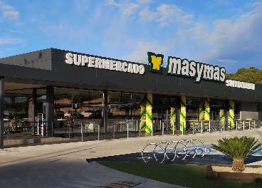 Supermercado masymas de La Nucía (Alicante)