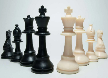 El retail, partida de ajedrez
