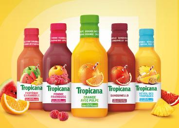Productos de Tropicana (PepsiCo) en Francia
