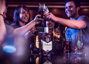 Ballantines, marca de Pernod Ricard