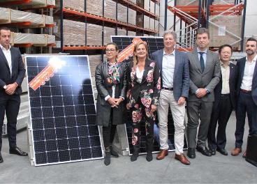 Paneles solares de Froiz