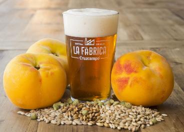 Cruzcampo Fruity Ale con Melocotón