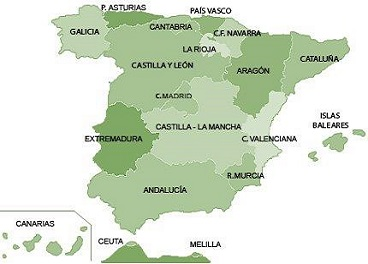 Mapa autonómico de España