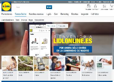 8a76eef4e Lidl lanza tienda online en España. Revista infoRETAIL.