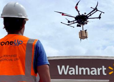 Walmart y DroneUp