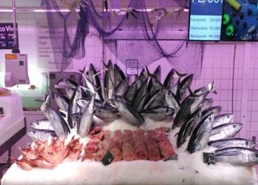Pescadería de Carrefour