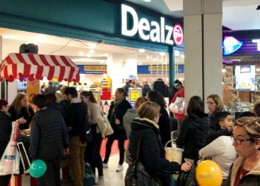 Nueva tienda Dealz en Nuevo Centro, Valencia