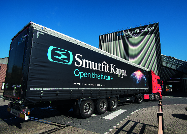 Vehículo e instalaciones de Smurfit Kappa