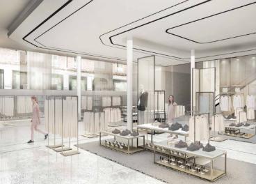 Zara abre su  flagship store  en plena Milla de Oro. Revista infoRETAIL. 35625b8cdb8