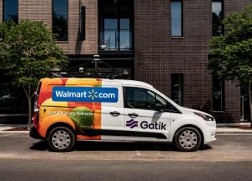 Gatik, vehículo autónomo Walmart