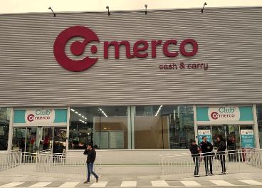 Fachada de Comerco (HD Covalco), en Aranjuez