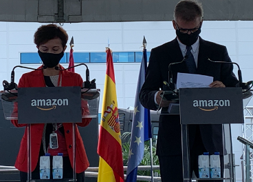 Mariangela Marseglia y Fred Pattje, de Amazon