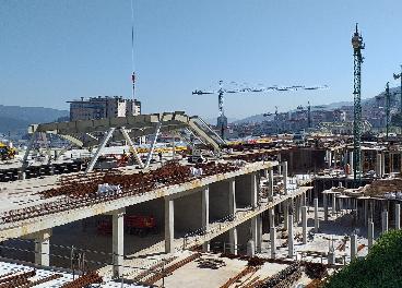 Obras de Vialia Estación de Vigo, de Ceetrus