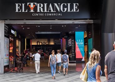 Centro comercial El Triangle, en Barcelona