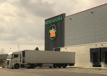 Nuevo almacén de Mercadona en Getafe