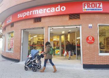 Supermercado de Froiz en Valladolid