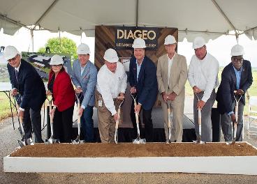 Diageo inicia la construcción de la fábrica