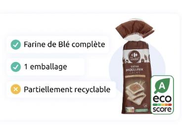 Carrefour testa el etiquetado ambiental Eco-Score
