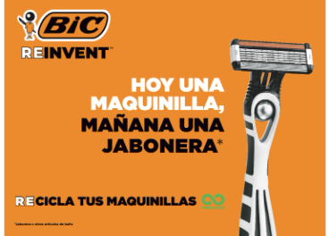 Reciclaje maquinillas Bic