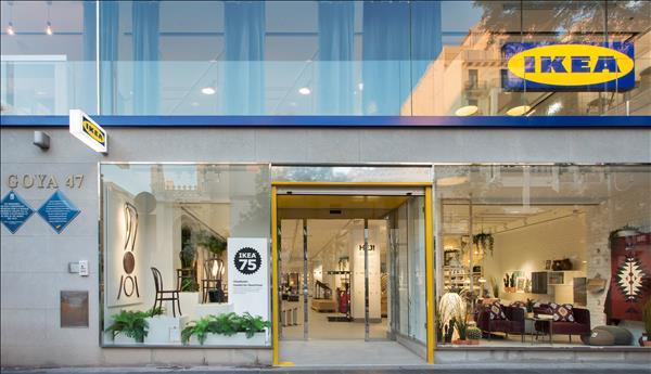 Tienda del futuro de Ikea en Goya (Madrid)