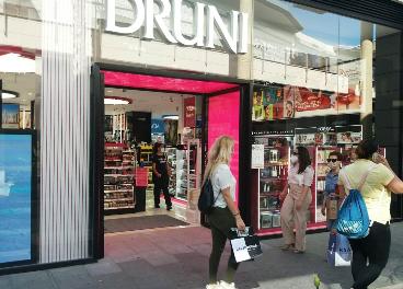 Druni en centro comercial de Carmila