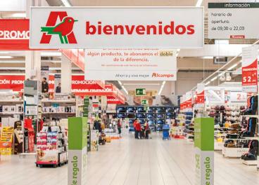 Auchan renueva su estructura de compras