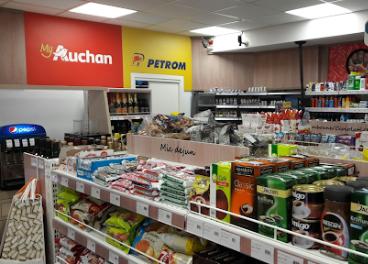 Tienda de MyAuchan en gasolinera Petrom