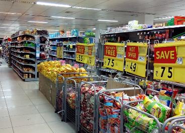 Precios en un supermercado
