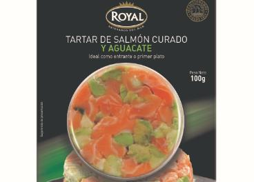Tarta de salmón de Royal