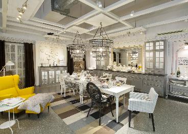 Interior de una tienda de Ikea