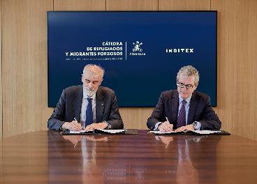 Firma Cátedra Refugiados Inditex