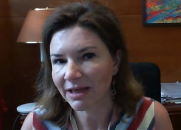 María José Rallo, del Ministerio de Transportes